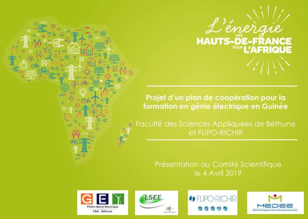 Plan de coopération pour la Formation Génie-électrique en Guinée - Flipo afrique Energia